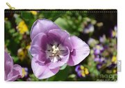 Tulip Lavender Carry-all Pouch