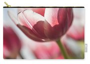 Pink Tulip Closeup Carry-all Pouch