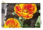 Tulip Red And Orange Carry-all Pouch
