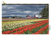 Tulips And Barn Carry-all Pouch
