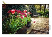 Tulips And Bench Carry-all Pouch