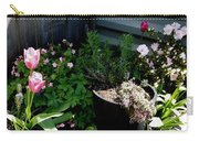 Tulips And Bluebells Carry-all Pouch