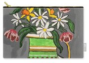 Tulips And Daisies Carry-all Pouch