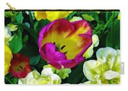 Tulips And Flowers  Carry-all Pouch