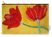 Tulips And Love Happy Together Carry-all Pouch