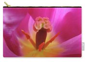 Tulips Artwork Pink Purple Tuli Flower Art Prints Spring Garden Nature Carry-all Pouch