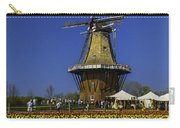Tulips At The Windmill Carry-all Pouch