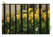 Tulips Behind Bars Carry-all Pouch