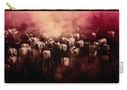 Tulips Burnt Sienna Carry-all Pouch by Richard Ricci