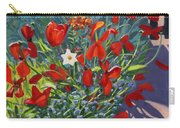 Tulips By The Gate Carry-all Pouch