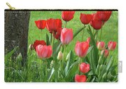 Tulips Flowers Art Prints Spring Tulip Flower Artwork Nature Art Carry-all Pouch