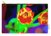 Tulips In Abstract Carry-all Pouch
