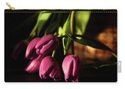 Tulips In Evening Sunlight Carry-all Pouch