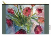 Tulips In Rosie's Vase Carry-all Pouch