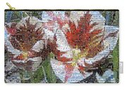Tulips In Springtime Photomosaic Carry-all Pouch