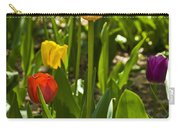 Tulips In The Garden Carry-all Pouch