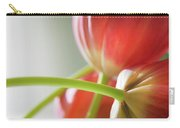 Tulips In The Morning Carry-all Pouch by Theresa Tahara