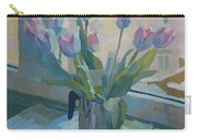 Tulips On A Window  Carry-all Pouch