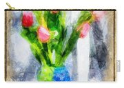 Tulips On A Half Shelf Carry-all Pouch