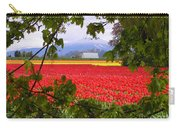 Tulips Secret Window Carry-all Pouch