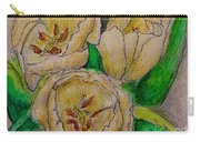 Tulips Trio Carry-all Pouch