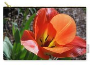 Tulips Wearing Orange Carry-all Pouch