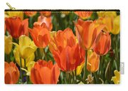 Tulips Yellow And Tangerine Carry-all Pouch
