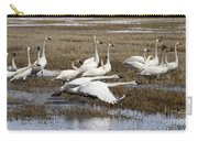 Tundra Swans Alberta Canada 3 Carry-all Pouch