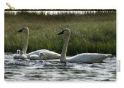 Tundra Swans And Cygents Carry-all Pouch