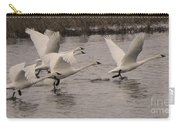 Tundra Swans Take Off Carry-all Pouch