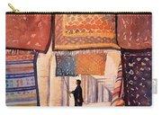 Tunisian Rug Vendor Carry-all Pouch