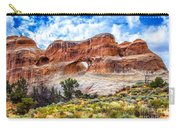 Tunnel Arch Trail View Carry-all Pouch