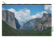 Tunnel View In Yosemite  Carry-all Pouch