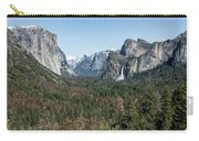 Tunnel View Of Yosemite During Spring Carry-all Pouch