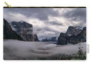 Tunnel View Storm Clouds Carry-all Pouch