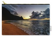 Tunnels Beach Sunset Carry-all Pouch