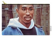 Tupac Shakur Drawing Carry-all Pouch