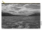 Turbulent Loch Ness In Monochrome 2 Carry-all Pouch