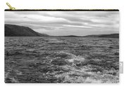 Turbulent Loch Ness In Monochrome Carry-all Pouch