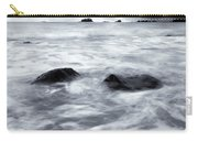 Turbulent Seas Carry-all Pouch by Mike  Dawson