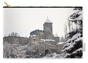 Tures Castle In The Snow Carry-all Pouch