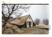 Turf Church At Hof In Iceland Carry-all Pouch