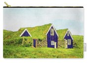 Turf Huts In Skaftafell Carry-all Pouch