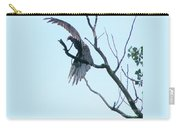 Turkey Vulture Drying Wings After Rain     Indiana Summer Carry-all Pouch
