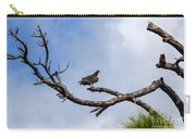 Turkey Vulture On Dead Tree Carry-all Pouch