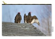 Turkey Vultures On Roof Carry-all Pouch