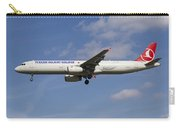 Turkish Delight Airlines Airbus A321 Carry-all Pouch