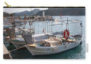 Turkish Fishing Boats Moored At Bozburun Carry-all Pouch