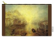 Turner Joseph Mallord William Ancient Italy Ovid Banished From Rome Joseph Mallord William Turner Carry-all Pouch