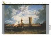 Turner Joseph Mallord William Tabley The Seat Of Sir Jf Leicester Joseph Mallord William Turner Carry-all Pouch